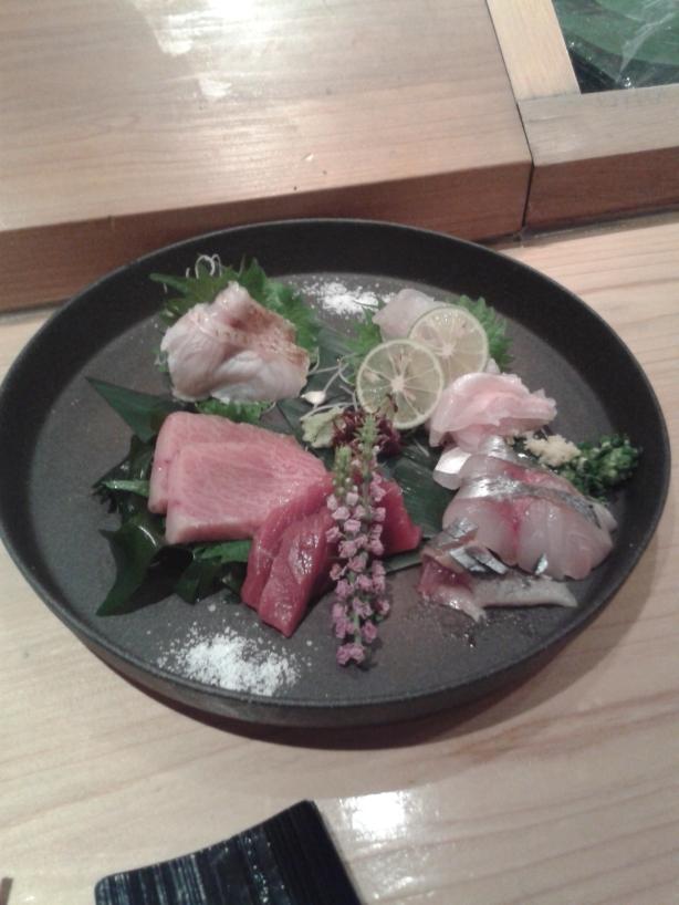 Very nice sashimi plate